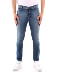 Roy Rogers P21RRU006D3171194 Jeans - Bleu