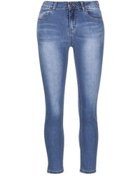 Best Mountain - Rosepelle Women's Skinny Jeans In Blue - Lyst