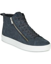 HUGO Hoge Sneakers Futurism Hito Nuzp1 - Blauw