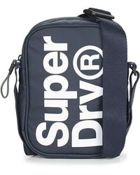 Superdry Handtasje Side Bag - Blauw