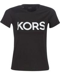 MICHAEL Michael Kors T-shirt KORS GRAPHC SS TSHIRT - Noir