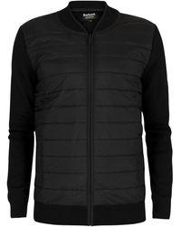 Barbour Zip-Through Baffle Jacket - Noir