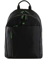 Y Not? ? Biz-8515 Zaino Accessories Black Women's Backpack In Black