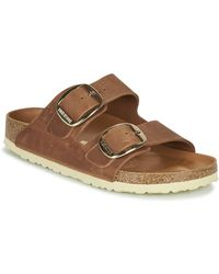 Birkenstock Slippers Arizona Big Buckle - Bruin