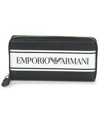 Emporio Armani Portemonnee Y3h168-yfg7a-88009 - Zwart