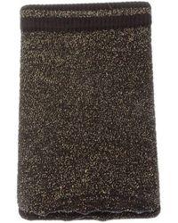 Leg Avenue Socken Socke mittelhoch - Nylon - Lurex Anklets - Schwarz