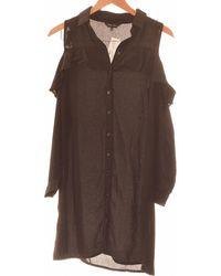 New Look Robe Courte 38 - T2 - M Robe - Noir