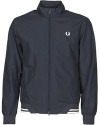 Fred Perry BRENTHAM JACKET - Azul