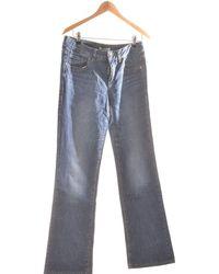 Esprit Jean Droit Femme 40 - T3 - L Jeans - Bleu