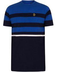 Luke 1977 T-shirt Stride T-shirt - Bleu