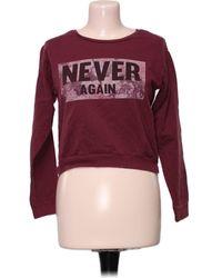 Jennyfer Pull, Sweat - S Sweat-shirt - Rouge