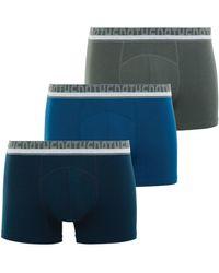 Athena - Lot de 3 boxers homme Coton Bio hommes Boxers en bleu - Lyst