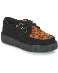 T.U.K. - Viva Lo Women's Casual Shoes In Black - Lyst