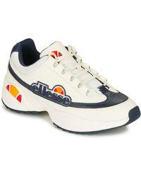 Ellesse Lage Sneakers Sparta Lthr Am - Wit