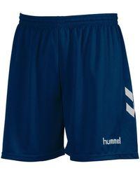 Hummel Korte Broeken Short Classic - Blauw