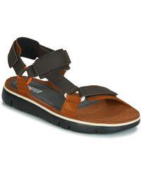 7e1df6e23c7 Camper Oruga Velcro Strap Sandals - For Men in Orange for Men - Lyst