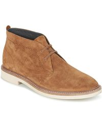 Frank Wright - Bowmore Men's Mid Boots In Brown - Lyst