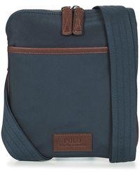 Polo Ralph Lauren Nylon-thpsn Flt Xb-cxb-nyl Pouch - Blue