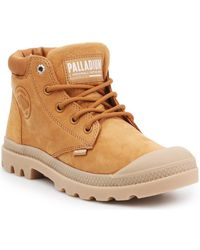 Palladium - Baskets montantes Pampa LO Cuff LEA 95561-717-M - Lyst