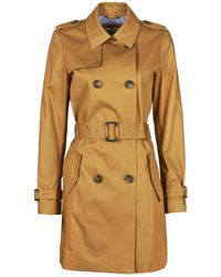 Esprit TRENCH LONG Trench - Marron