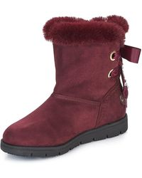 Tom Tailor Ternas Mid Boots - Red