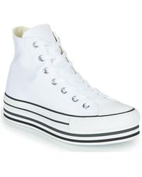 Converse Hoge Sneakers Chuck Taylor All Star Platform Eva Layer Canvas Hi - Zwart