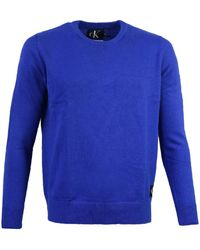 Calvin Klein Pull J30J309563 - Bleu