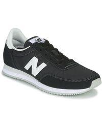 New Balance 373 - Suède Sneakers - Zwart