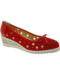 Donna Soft Ballerines DOSODS0770ro - Rouge