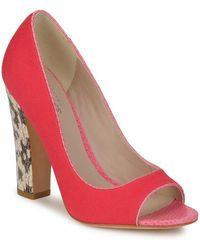 BOURNE FRANCESCA femmes Chaussures escarpins en rose