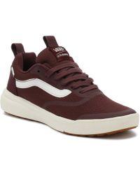 Vans - Catawba Grape Burgundy Ultrarange Trainers Men s Shoes (trainers) In  Red - Lyst 74d3cc3c4