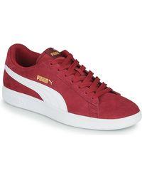 PUMA Lage Sneakers Smash - Rood