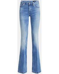 Guess W02A58 D32J6 - SEXY BOOT Jeans - Bleu