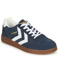 Hummel Lage Sneakers Vm78 Cph - Blauw