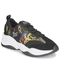 Versace Jeans Couture Lage Sneakers Yzasc5 - Zwart