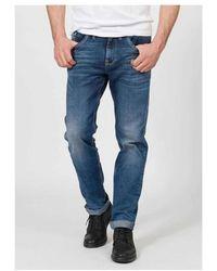 Petrol Industries RILEY 5865 DUSTY INDIGO Jeans - Bleu