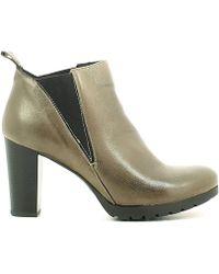 Keys - 1156 Ankle Boots Women Roccia Women's Mid Boots In Grey - Lyst