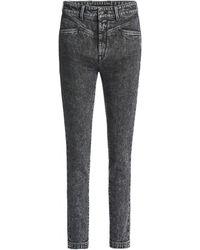 Salsa Jeans Jean Secret Glamour Push In Capri - Noir