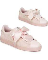 PUMA - Suede Heart Bubble W s Shoes (trainers) - Lyst 9663faca0
