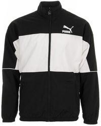 PUMA Sweater Retro Woven Track Jacket - Zwart
