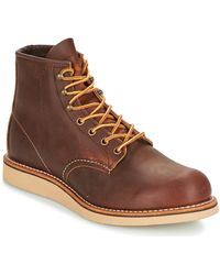 Red Wing Boots - Marron