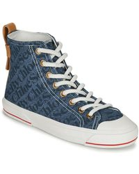 See By Chloé Sneakers Alte Aryana - Blu