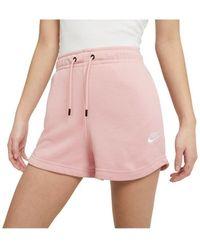 Nike Short Wmns Essential - Rosa