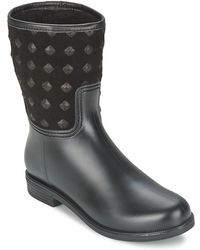 SuperTrash - Suzy Women's Mid Boots In Black - Lyst