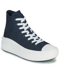 Converse Zapatillas altas CHUCK TAYLOR ALL STAR MOVE ANODIZED METALS HI - Azul