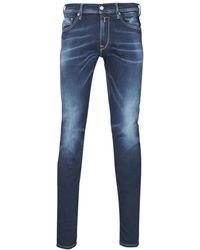 Replay Skinny Jeans Jondrill Hyperflex - Blauw