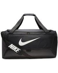 Nike Bolsa de deporte Brasilia L Duff 90 95L - Negro