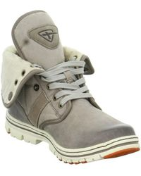 Tamaris - Resin Boots Women's Shoes (trainers) In Brown - Lyst