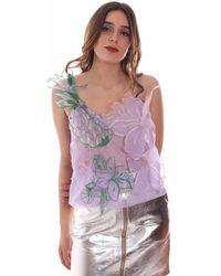 Pinko 1B14BS 5555 Debardeur - Violet