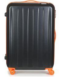 David Jones Musqueta 80l Women's Hard Suitcase In Black